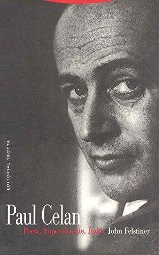 libro paul celan: poeta, superviviente, judio - nuevo