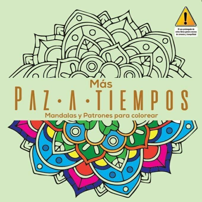 Libro Paz-a-tiempos Mandalas Y Patrones Para Colorear - $ 7.940 en ...