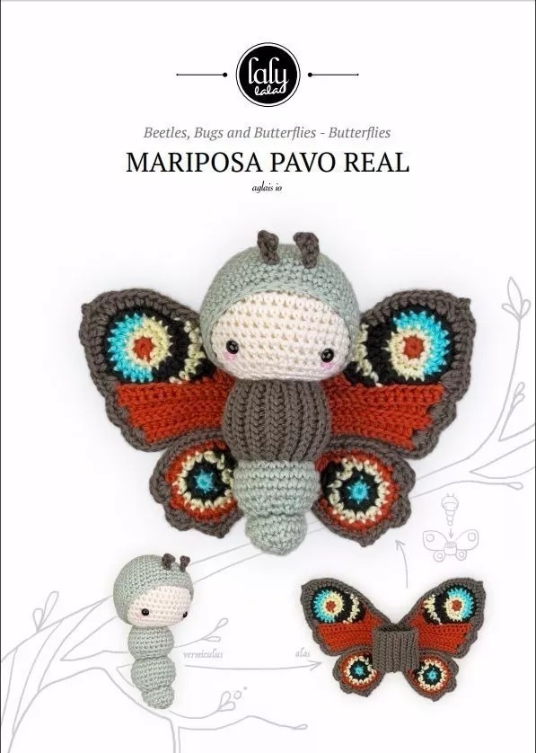 Libro Pdf Lalylala Muñecos Amigurumis, 20 Patrones.español - Bs. 500 ...