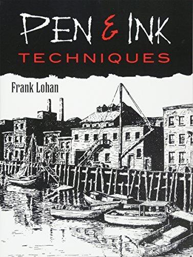 libro pen & ink techniques - nuevo