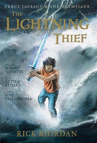 libro percy jackson & the olympians 1: the lightning thief