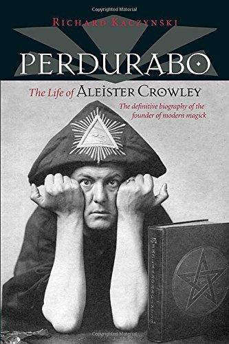 libro perdurabo: the life of aleister crowley - nuevo