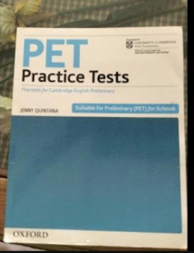 libro pet practice tests.