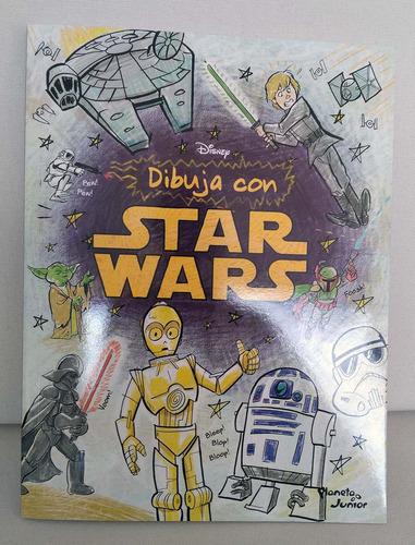 libro  pinta con star wars