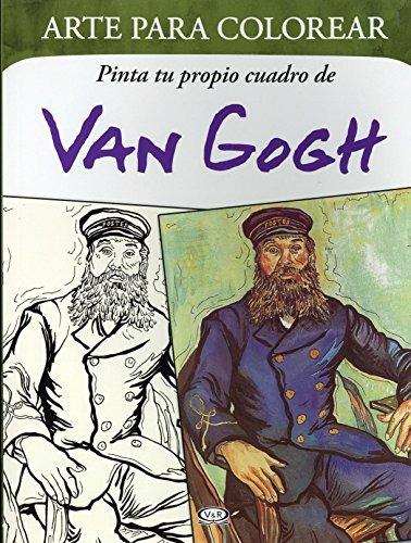 libro pinta tu propio cuadro de van gogh - nuevo