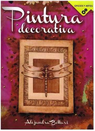 libro pintura decorativa paso a paso con moldes en oferta