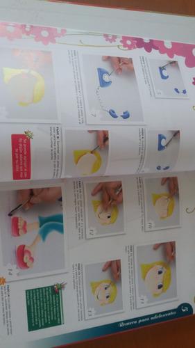 libro pintura sobre tela y madera con moldes + cd en oferta