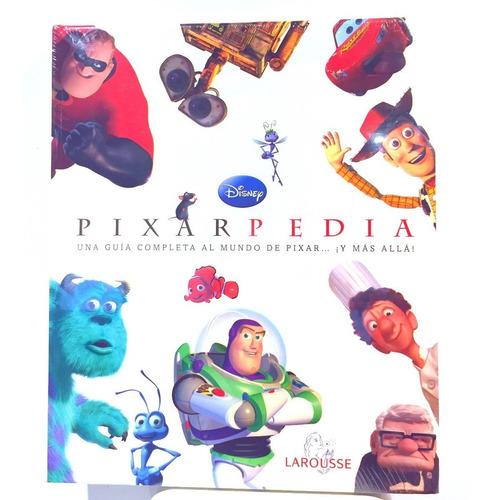 libro pixar-pedia (nuevo y original) toy story bichos disney