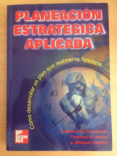 libro planificación estratégica aplicada leonard goodstein