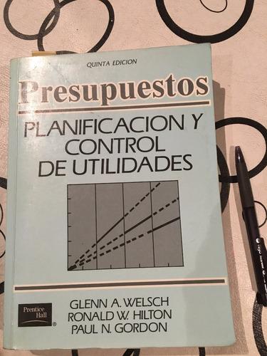 libro   planificacion y control de utilidades  welsch