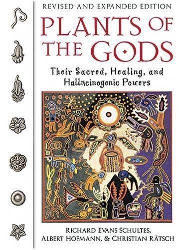 libro plants of the gods: their sacred, healing and hallucin