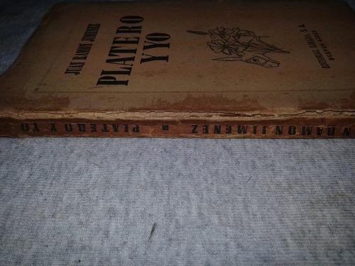 libro platero y yo 1958