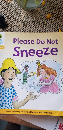 libro please do not sneeze editorial oxford inglés