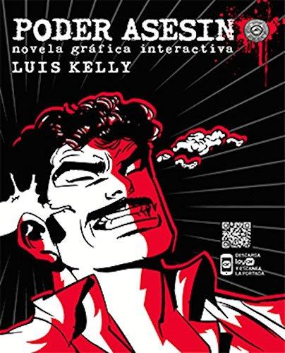 libro poder asesino: novela gráfica interactiva - nuevo