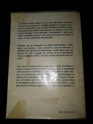 libro poder sin limites de anthony robbins