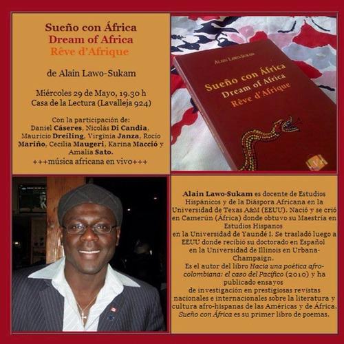 libro poesía sueño con africa alain lawo-sukam viajera ed