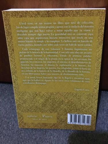 libro poesía/prosa relámpagos vol.3 jan de jager viajera ed.