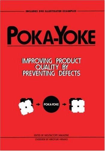 libro poka-yoke: improving product quality by preventing def