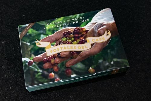 libro postales del café. cartas a mi madre. español e inglés