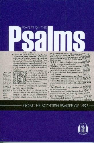 libro prayers on the psalms - nuevo