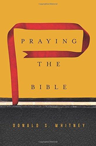 libro praying the bible - nuevo