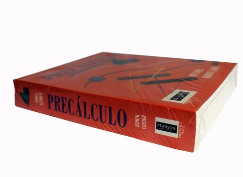 libro precalculo norbert lerner y¿ max sobel. 5ta edicion