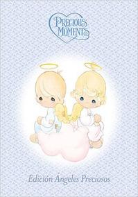 Libro Precious Moments ángeles Azul Nuevo