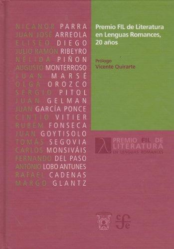 libro premio fil de literatura en lenguas romances, 20 años