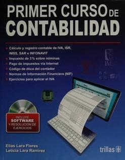 libro primer curso de contabilidad  de lara nueva edición