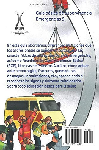 libro : primeros auxilios para primeros intervinientes guia.