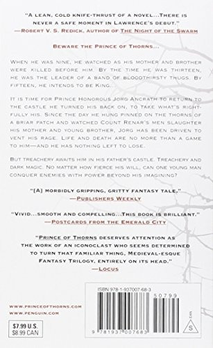libro prince of thorns - nuevo