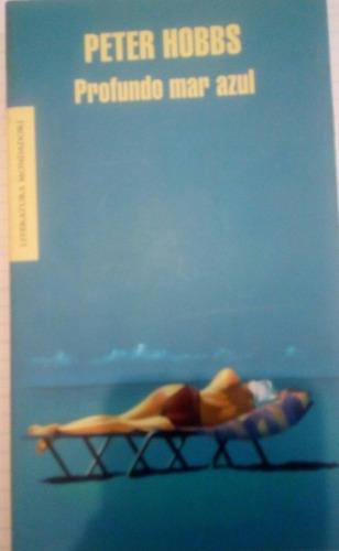 libro profundo mar azul - peter hobbs
