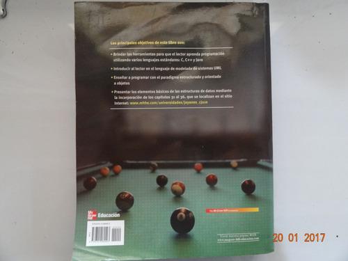 libro programacion en c , c++ , java y uml . joyanes aguilar