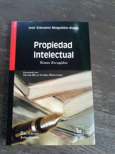 libro propiedad intelectual por ivor mogollon-rojas