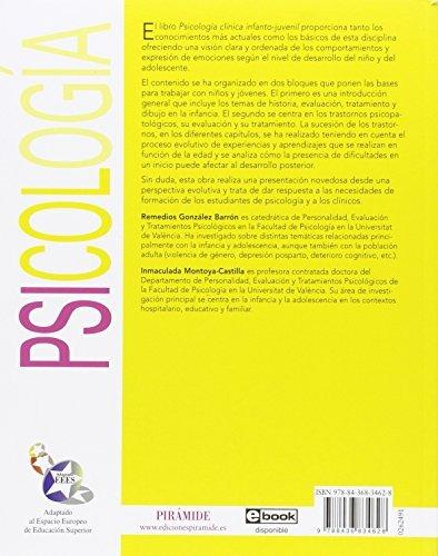 libro psicología clínica infanto-juvenil - nuevo