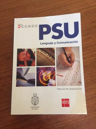 libro psu lenguaje