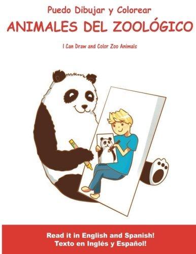 Libro : Puedo Dibujar Y Colorear Animales Del Zoologico: ... - $ 739 ...