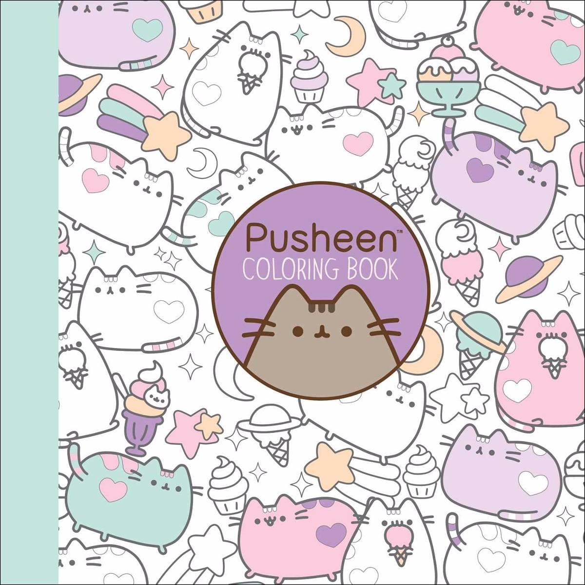 Libro Pusheen Coloring Book (nuevo) - $ 480,00 en Mercado Libre