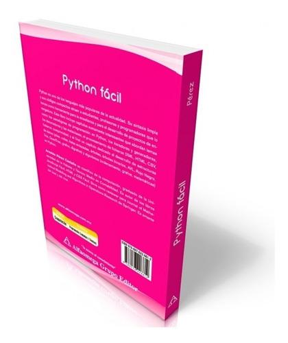 libro python facil - aprende a programar en python
