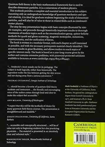 libro quantum field theory - nuevo