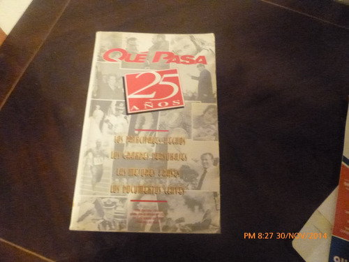 libro que pasa 25 años   (r457