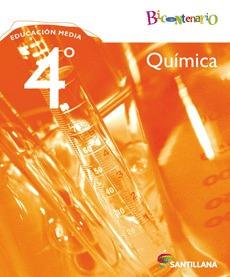 libro química 4to medio bicentenario (editorial santillana)