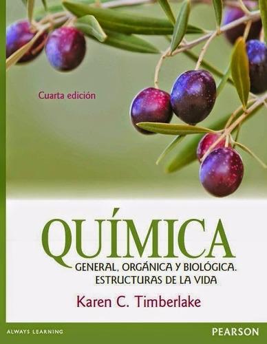 libro: química. general, orgánica y biológica.... - pdf