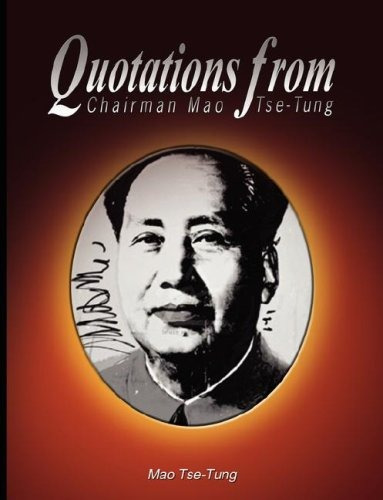 libro quotations from chairman - nuevo