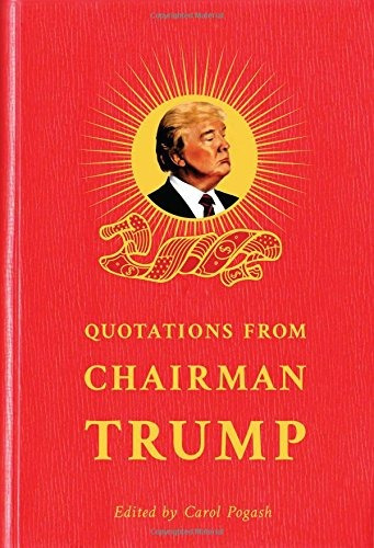 libro quotations from chairman trump - nuevo