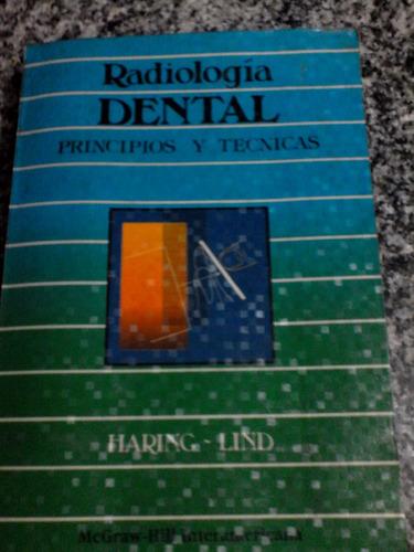 libro radiologia dental pricipios y tecnicas (haring-lind)