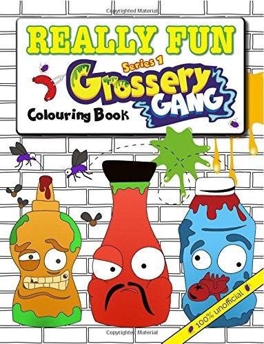 Libro Really Fun Grossery Gang Colouring Book: 100% Unoffici ...
