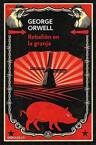 libro rebelión en la granja - nuevo -
