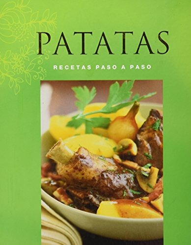 libro recetas paso a paso patatas - nuevo