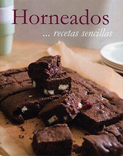 libro recetas sencillas: horneados - nuevo